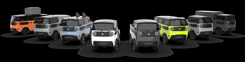 XBUS Konfigurator Modelle - Electricbrands